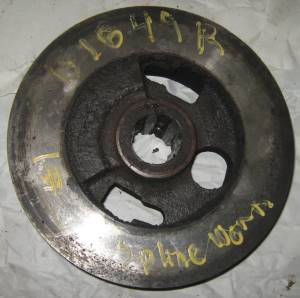Jd B Transmission And Drive Train Parts. B1849r 2 Clutch Driving Disk Very Good Splines 75. John Deere. John Deere B Transmission Shifter Diagram At Scoala.co